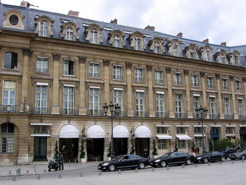The Ritz Hotel in Paris.