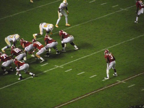 Alabama on Offense (vs Tennessee, 2011)