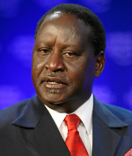 "Raila Odinga says that he is the ""People's President""."