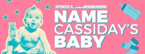 Proctor had a contest to let listeners choose a name for her baby.