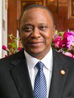 President Uhuru Kenyatta shut down TV stations.