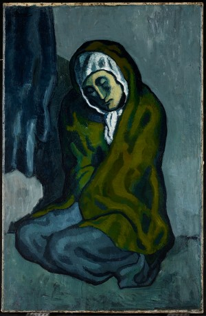 Pablo Picasso - The Crouching Beggar