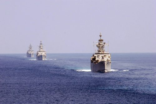 U.S. Warships.