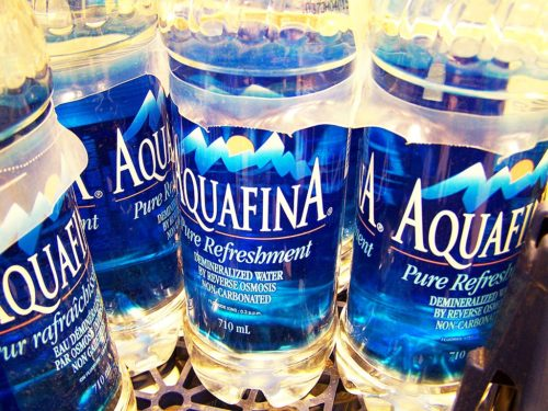 Scientists tested bottled water from 11 popular companies, including Aquafina.