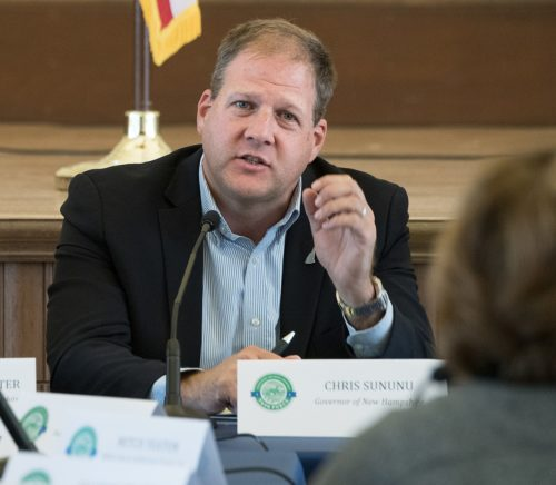 New Hampshire Governor Chris Sununu is looking for a girl to be governor for a day.
