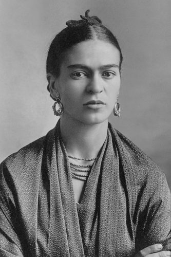 A picture of Frida Kahlo taken in 1932 by her father.