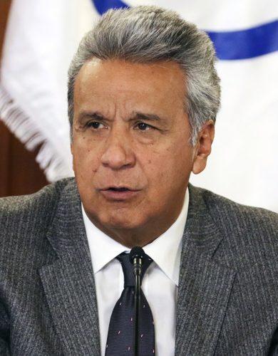 Ecuadorian President Lenín Moreno was elected in 2017.