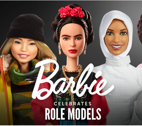 Picture from Mattel's Role Models Web Page