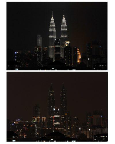 Earth Hour in Kuala Lumpur (2013)