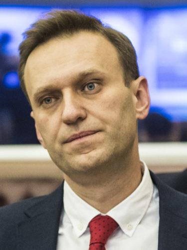 Alexei Navalny was not allowed to run against Putin.