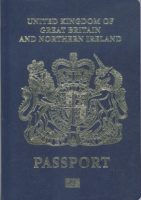 The UK's new blue passport will be made by a European company.