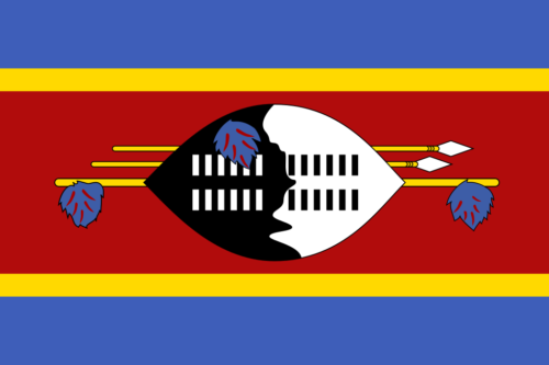 Flag of eSwatini (Swaziland)