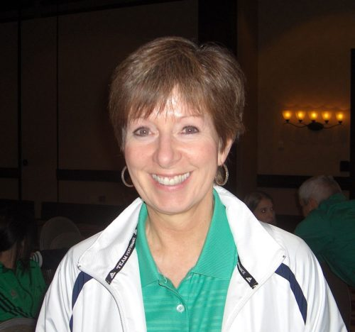 Coach of the Notre Dame Championship Women's Team, Muffet McGraw