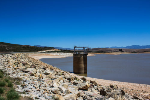 Theewaterskloof Dam was only 13% full in 2018.