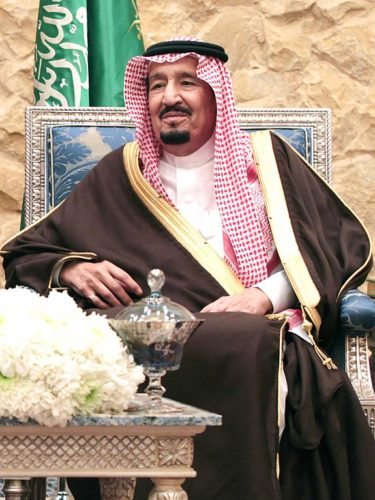 King Salman of Saudi Arabia, 2017