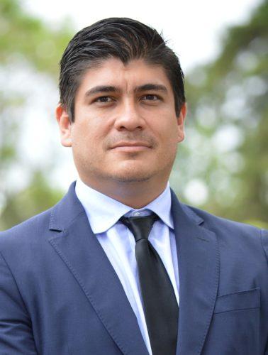 Costa Rica's new president, Carlos Alvarado Quesada