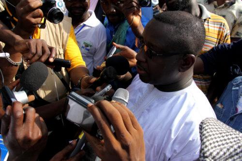 Sierra Leone's new president, Julius Maada Bio (2012)