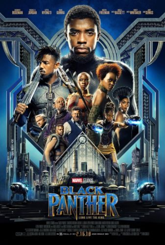 Poster for the movie Black Panther