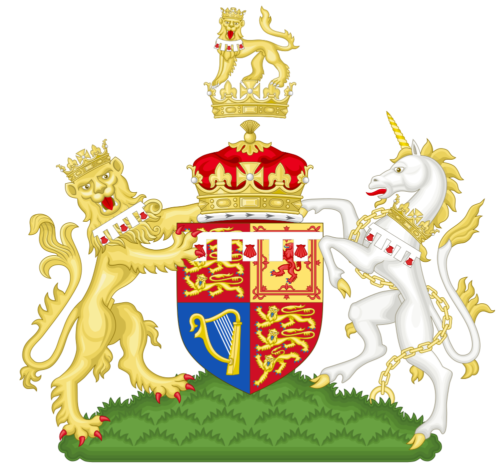 Coat of arms of Prince Harry, Duke of Sussex.