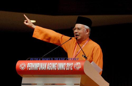 Najib Razak, 2012