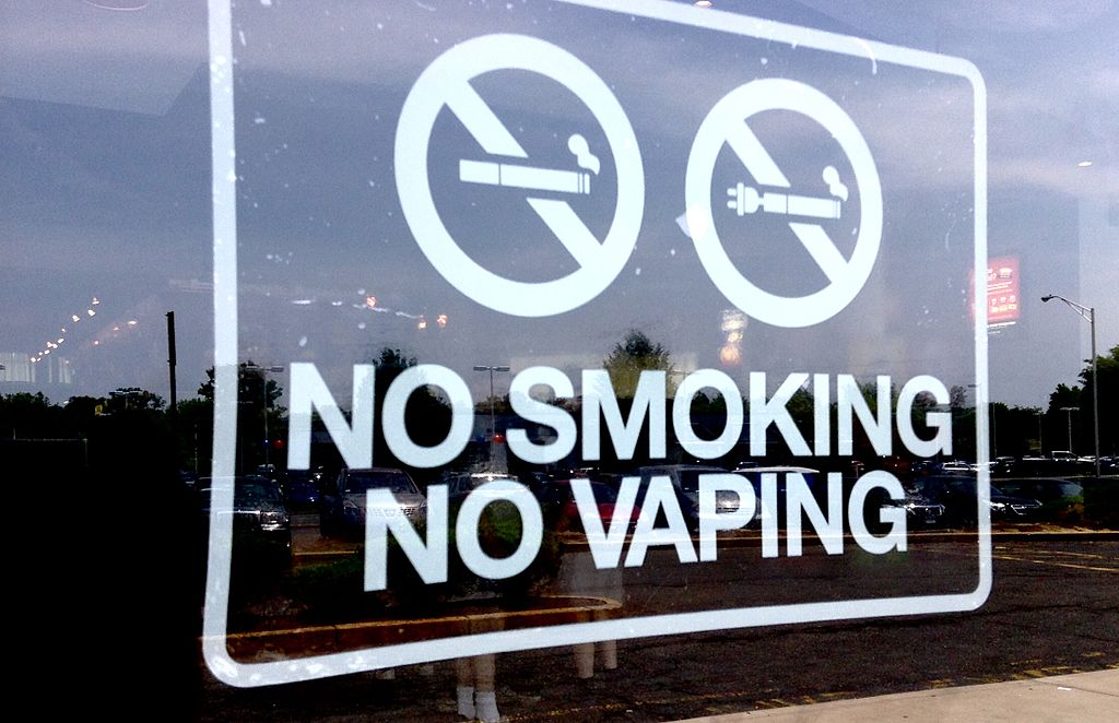 No Smoking, No Vaping Sign