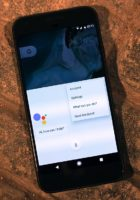 Android Assistant on the Google Pixel XL smartphone