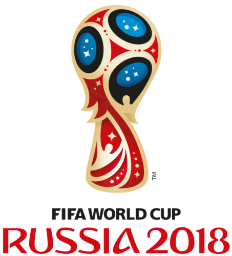 Logo for the 2018 FIFA World Cup