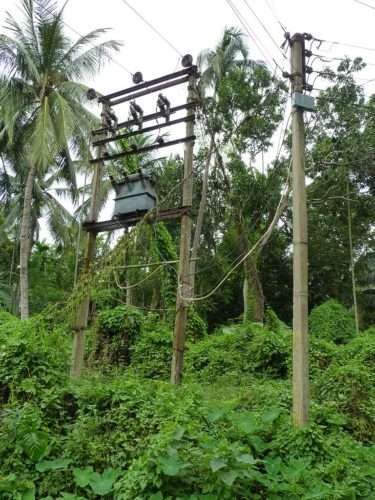 It can be hard to bring electricity to villages which are far away.