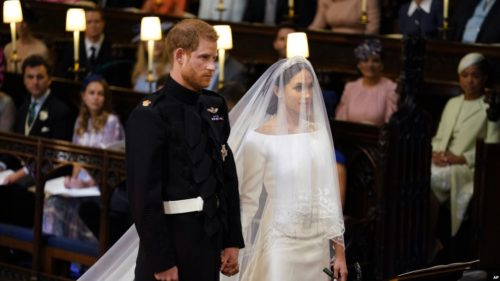 Prince Harry and Meghan Markle were married on Saturday.