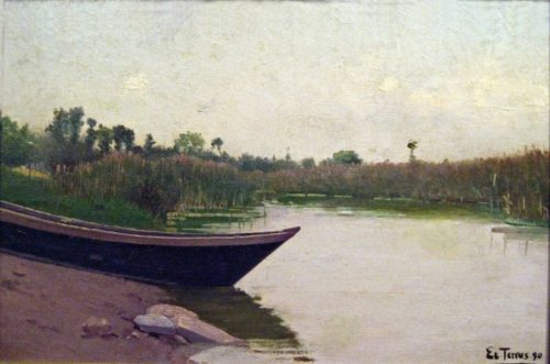 Untitled painting by Étienne Terrus, 1890