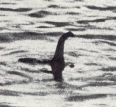 This photo of the Loch Ness Monster from 1934 was a trick.