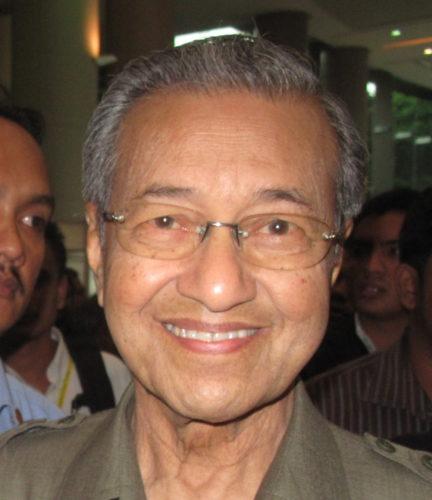 Mahathir Mohamad in 2010