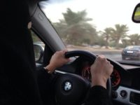 Woman are now allowed to drive in Saudi Arabia.
