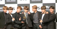 BTS at the Billboard Music Awards in 2017