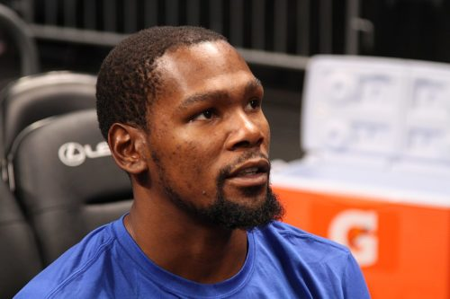 Golden State Warriors forward Kevin Durant was named MVP for the series.