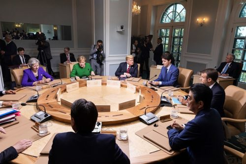 G7 Meeting, Canada, 2018