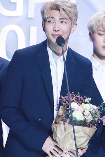 RM (RapMonster) is the leader of BTS.