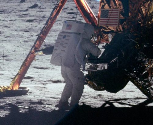 Neil Armstrong was the first person to walk on the moon.