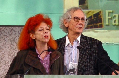 Christo and his wife, Jeanne-Claude