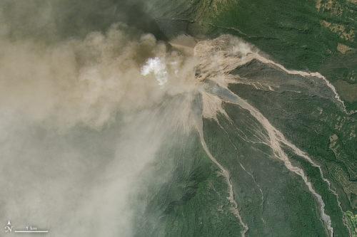 Fuego erupting, February, 2018.