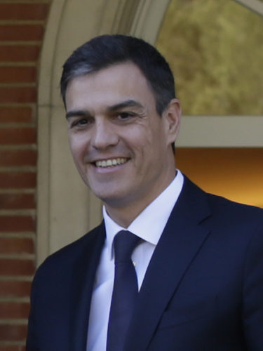 Pedro Sánchez is the new prime minister of Spain.