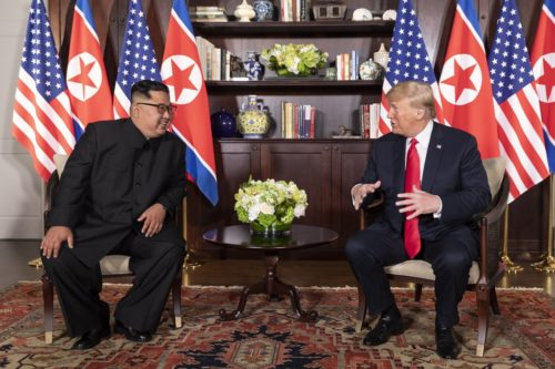 Mr. Trump says he and Mr. Kim have a special friendship.