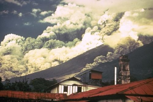 1974 eruption of Volcano Fuego