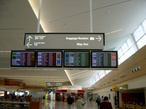 At first people were afraid there might be a bomb in a bag found in the Adelaide Airport.