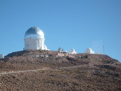 A new camera in the telescope at Cerro Tololo Observatory in Chile allowed the scientists to find the moons.