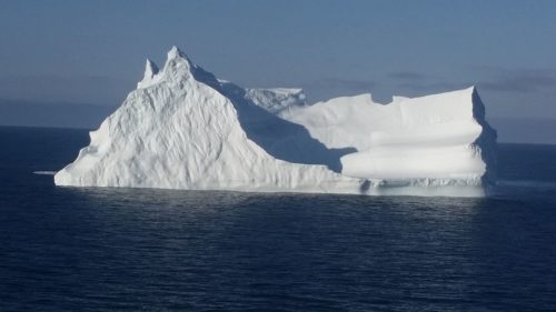 Iceberg seen floating south of Innaarsuit in 2016.