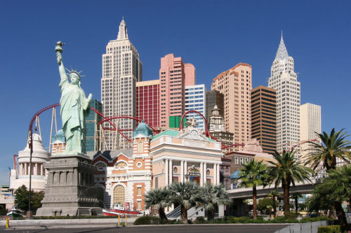 The Hotel/Casino New York-New York in Las Vegas