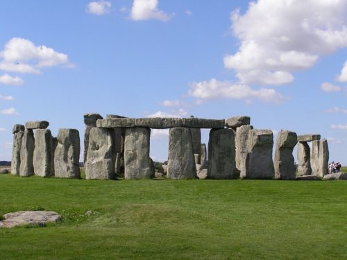 Stonehenge in Wiltshire, England is probably the most famous henge.