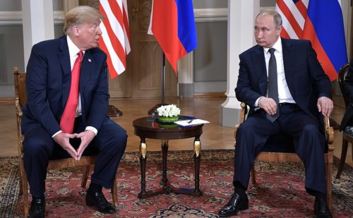 President Trump met alone with Mr. Putin for over two hours.