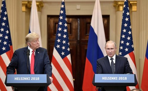 Mr. Trump seemed to let Mr. Putin lead the meeting.